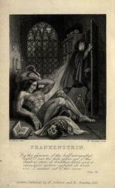 Frankenstein 1831 inside cover