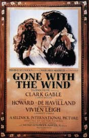 Gone with the Wind (1939) film poster
