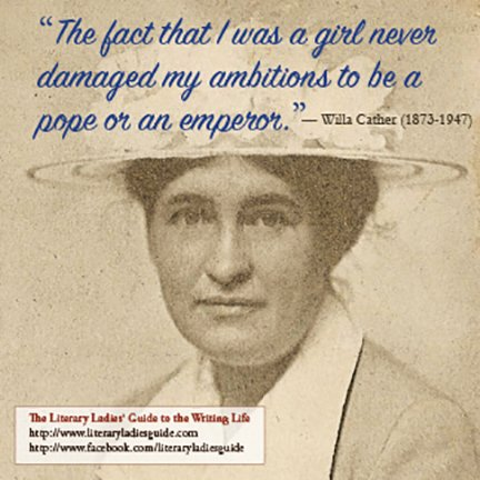 Willa cather quote