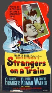 Strangers on a Train 1951 film poster