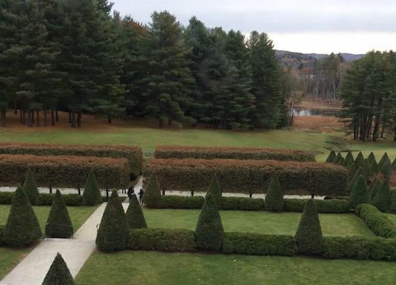 Edith Wharton's gardens at the Mount