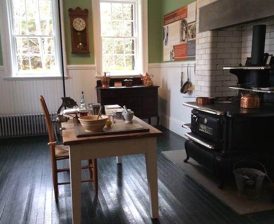 Edith Wharton's kitchen at The Mount