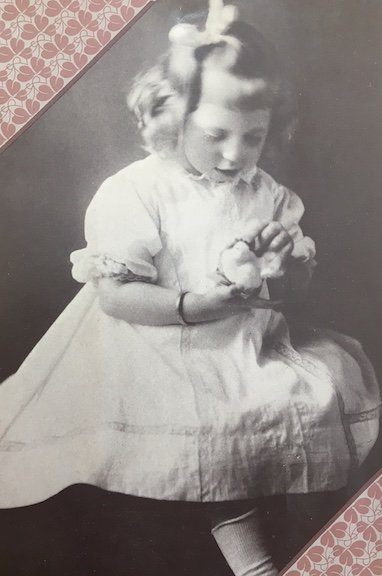 Eudora Welty as a child