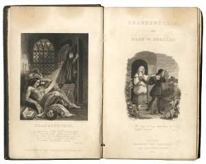 Frankenstein title page original