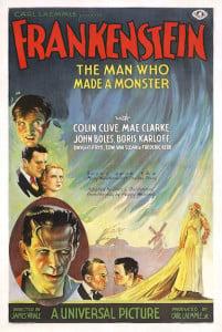 Frankenstein film poster 1931