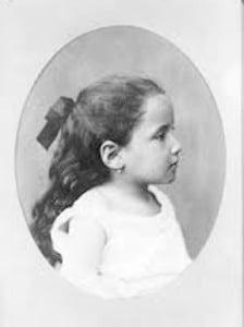 Gertrude Stein age 3