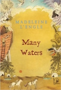 Many Waters by Madeleine L'Engle cover