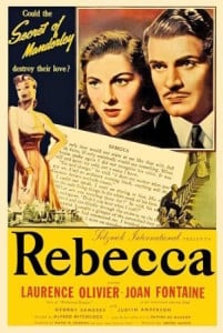Rebecca 1940 movie poster