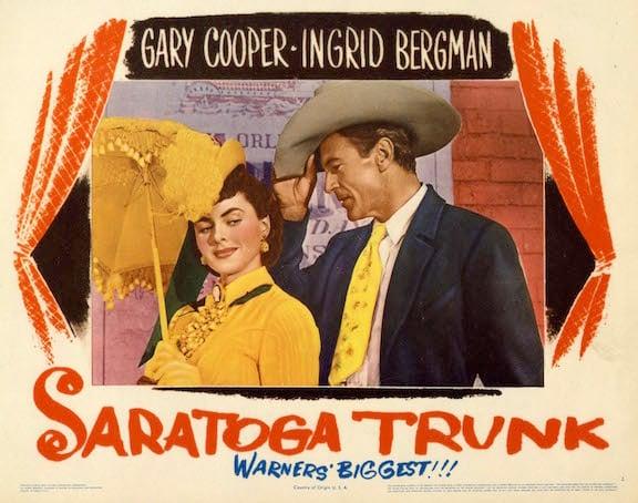 Saratoga Trunk poster for film version (1945)