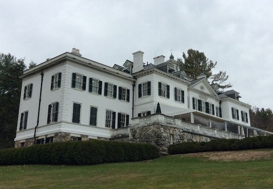 The Mount - Edith Wharton's home in Lenox, MA