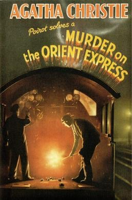 murder on the orient express original 1933 cover