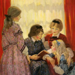 Illustrations for Little Women by Jessie Willcox Smith