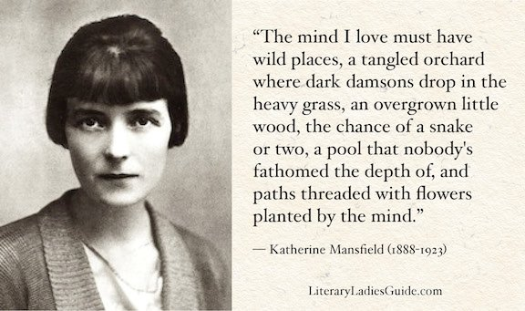 Katherine Mansfield quote - The mind I love