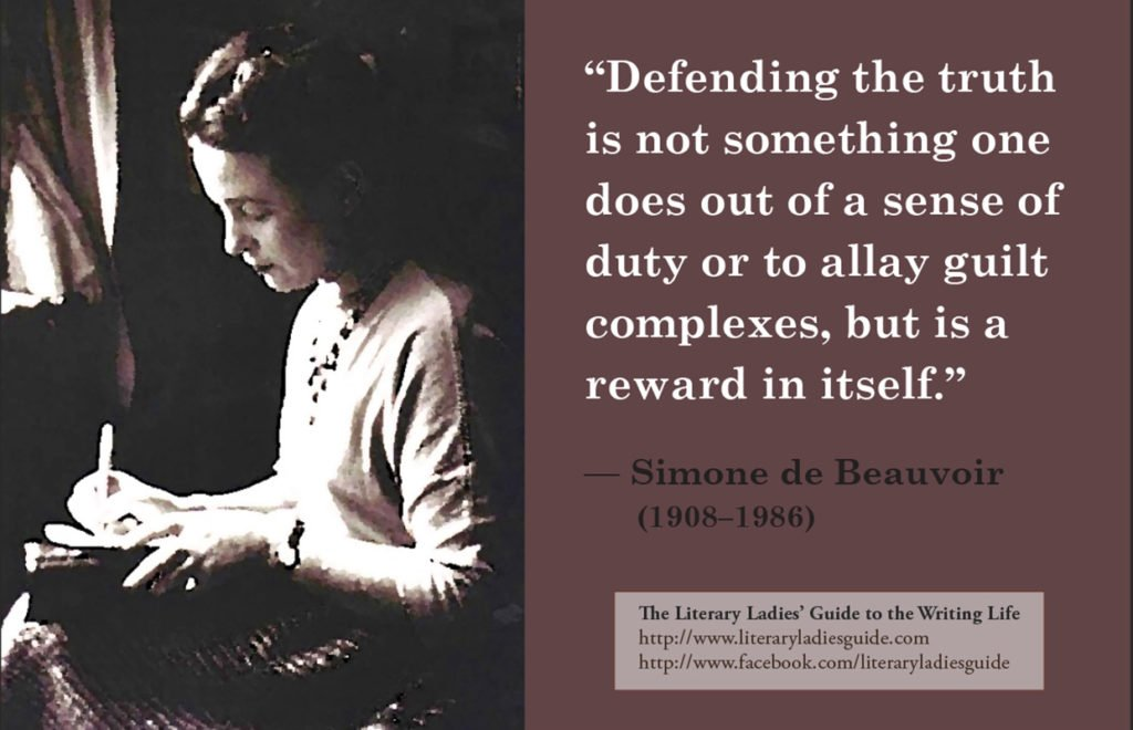 simone de beauvoir quote on truth