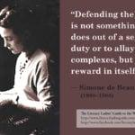 Simone de Beauvoir: Defending the truth