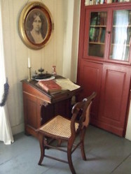 Louisa May Alcott's desk at Orchard House