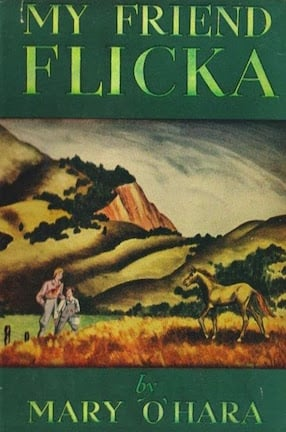 my friend flicka by Mary O'Hara Original cover