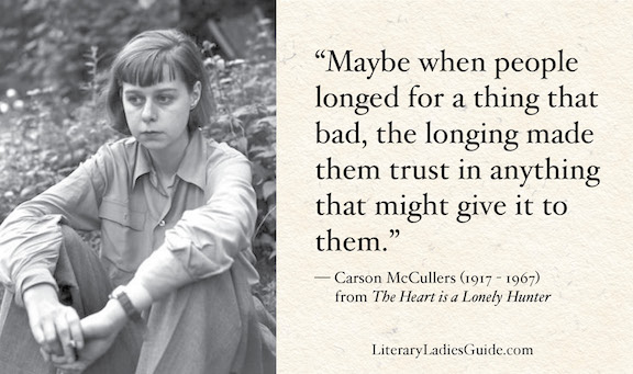 Carson McCullers quotes from The Heart is a Lonely Hunter
