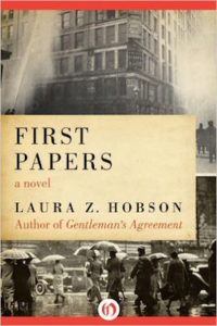 First papers by Laura Z. Hobson