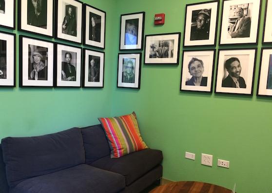 Poets house NYC quiet reading room