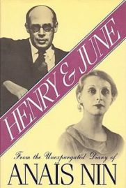 Henry and June by Anais Nin cover
