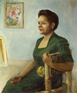 Jessie Fauset by Laura Wheeler Waring