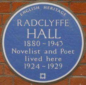 Radclyffe Hall lived here