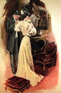 Original illustration from Madame de Treymes by Edith Wharton