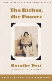The Richer, the Poorer by Dorothy West 1995 cover