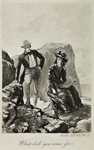 Illustration from The Tenant of Wildfell Hall