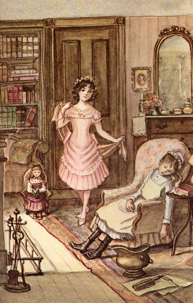 Illustration from A Little Princess