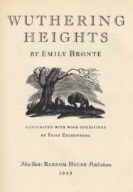Wuthering Heights 1943 edition fronticpiece