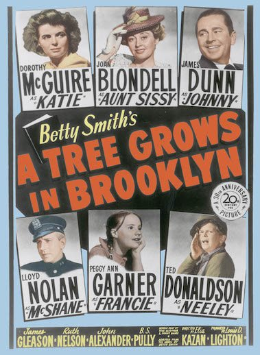 A tree grows in brooklyn flim poster