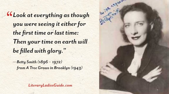 Betty Smith quote from a tree grows in Brooklyn