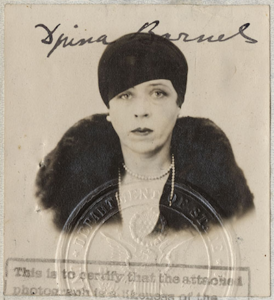 Djuna Barnes passport