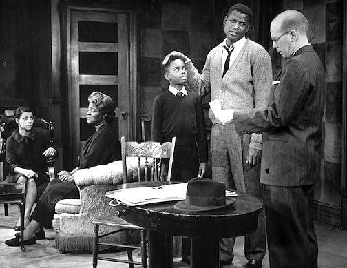 Scene from A Raisin in the Sun, 1959