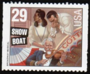 Show boat stamp