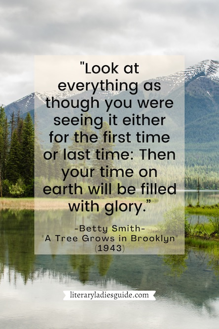 betty smith - a tree grows in brooklyn quotes