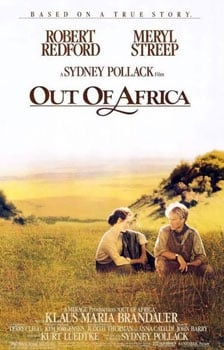 Out of Africa 1985 movie