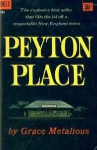 Peyton Place by Grace Metalious 1956