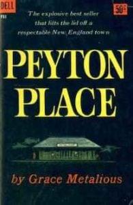 Peyton Place by Grace Metalious 1956