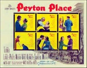 Peyton Place 1957 film poster