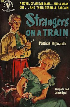 Strangers on a Train (1950) novel cover