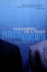Strangers on a train novel cover
