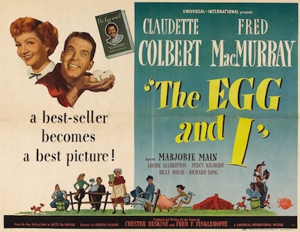 The egg and I movie poster