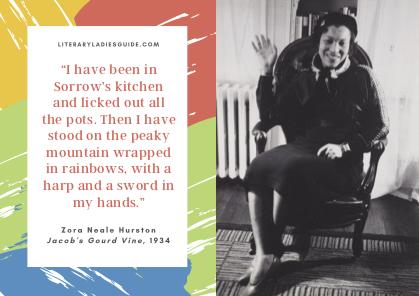 Zora Neale Hurston Sorrow's Kitchen quote