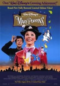 Mary Poppins movie poster 1964