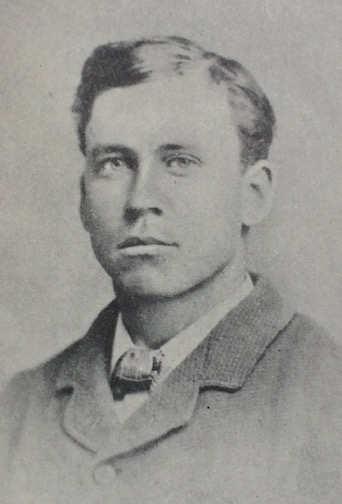 Almonzo Wilder as a young man