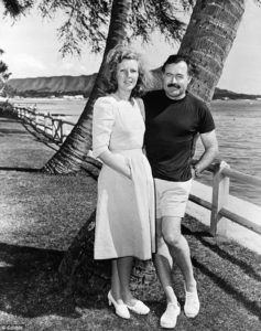 Gellhorn and Hemingway photo by Corbis