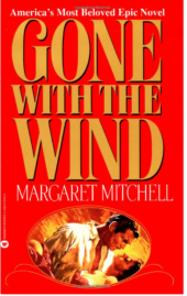 Gone with the wind by Margaret Mitchell paperback edition